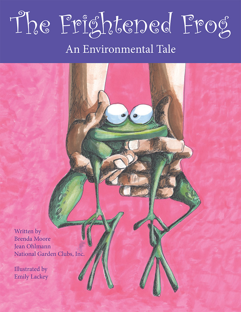 The Frightened Frog K-4 Children's Book
