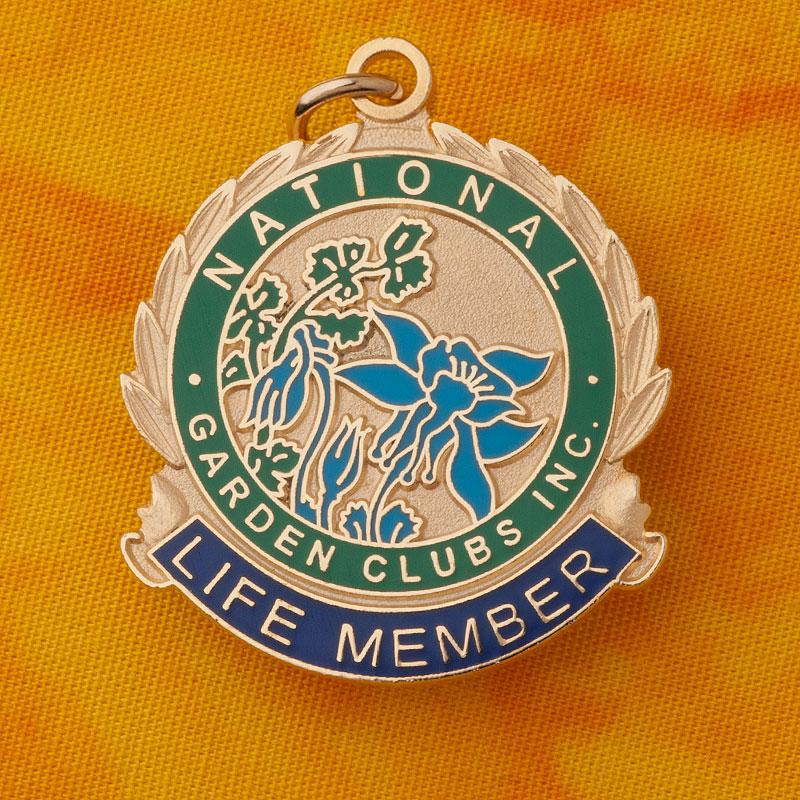 "1"" NATIONAL LIFE MEMBER CHARM"