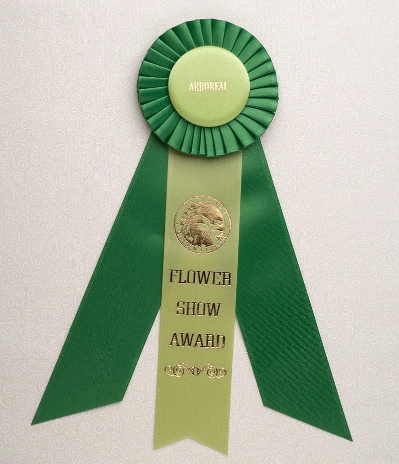 Arboreal Award Standard Size Rosette