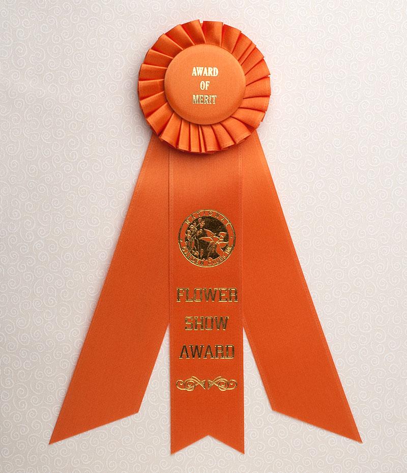 Award of Merit Standard Size Rosette