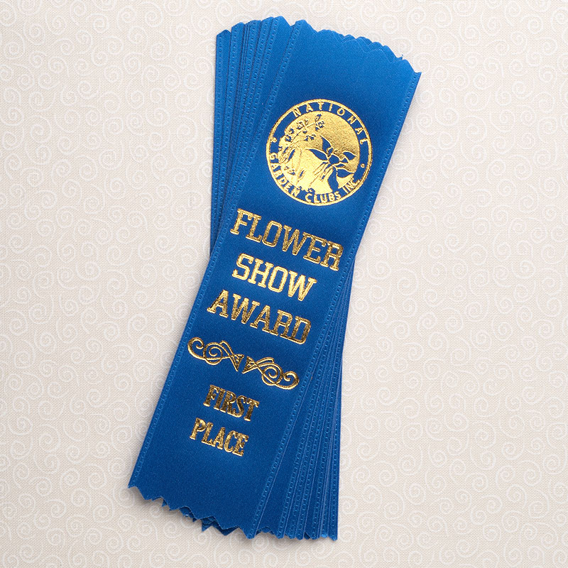 """10 Pack 6"""" First Place Blue Ribbons"""