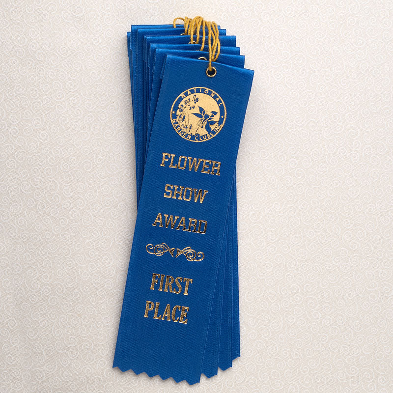 """10 Pack 8"""" First Place Blue Ribbons"""