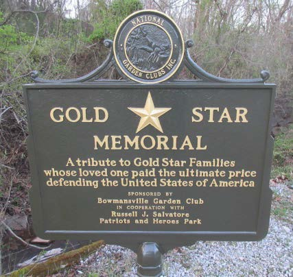 Gold Star Memorial Marker